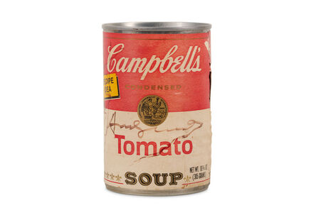 Andy Warhol, 'Campbell's Tomato Soup Tin Signed', 1975