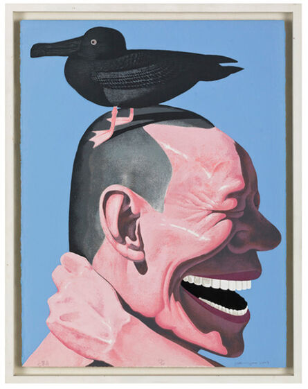 Yue Minjun, 'Silly Bird', 2004
