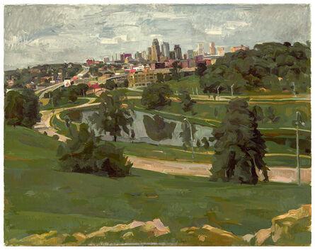 Wilbur Niewald, 'Kansas City, View from Penn Valley Park', 2015
