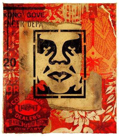 Shepard Fairey, 'Icon Stencil', 2018
