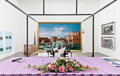 Simon Denny, 'New Management (installation view)', 2014