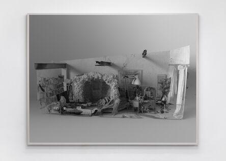 Tim Berresheim, ' Mariengrotte und Atelier in optimaler Position. Licht IV', 2020
