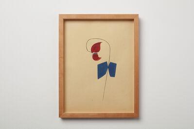 Clare E. Rojas, 'Moth & Flower', 2021