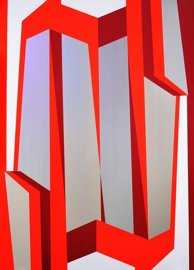 Samara Adamson-Pinczewski, 'Faceted Facade (Wobbly)', 2019