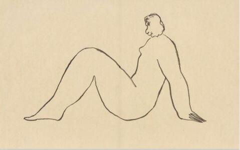 Sanyu, 'Nude', ca. 1930