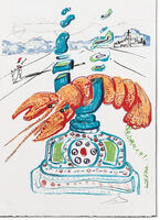 Salvador Dalí, 'Cybernetic Lobster Telephone (Imagination & Objects of the Future Portfolio)', 1975 -1976