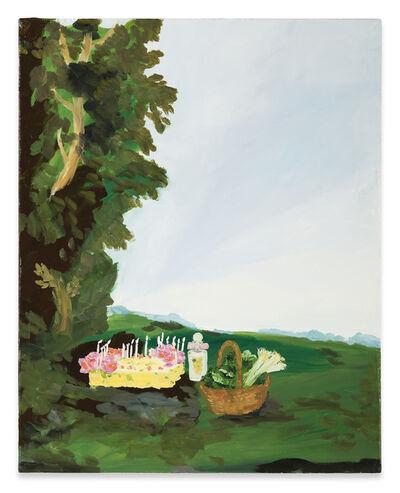 Karen Kilimnik, 'the goddess Artemis's afternoon snack, Moreton-on-marsh, the cotswolds', 2009