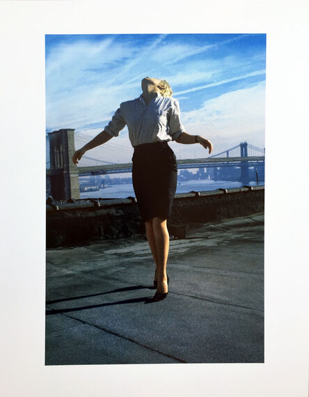 Robert Longo, 'Untitled (Cindy, from Men in the Cities series)', 2014