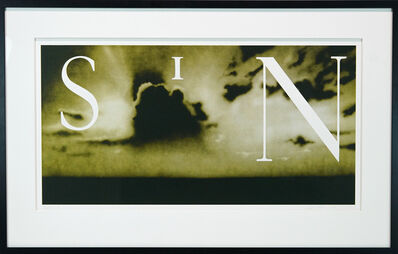 Ed Ruscha, 'Sin Without', 2002