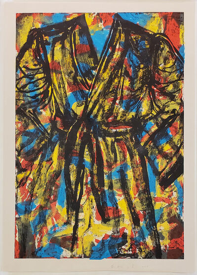 Jim Dine, 'Madness and Blue', 2019