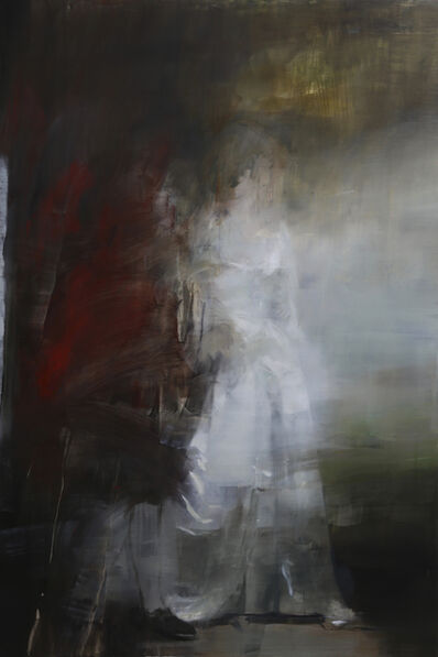 Jake Wood-Evans, 'Sir Christopher and Lady Sykes, after Romney', 2019