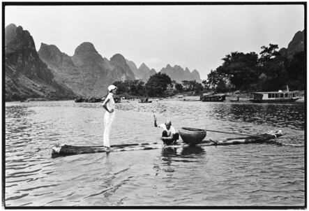 Arthur Elgort, 'Linda Evangelista, Guangxi, China', 1993