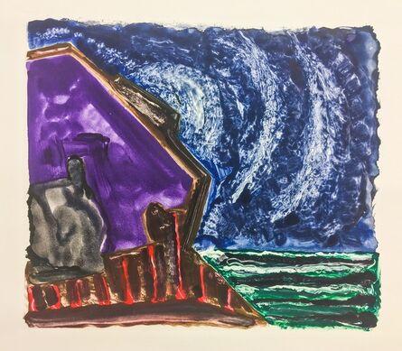Gregory Amenoff, 'Untitled (Night House)', 2017
