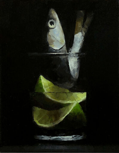 Tom Giesler, 'Floral 48: anchovy lime', 2021