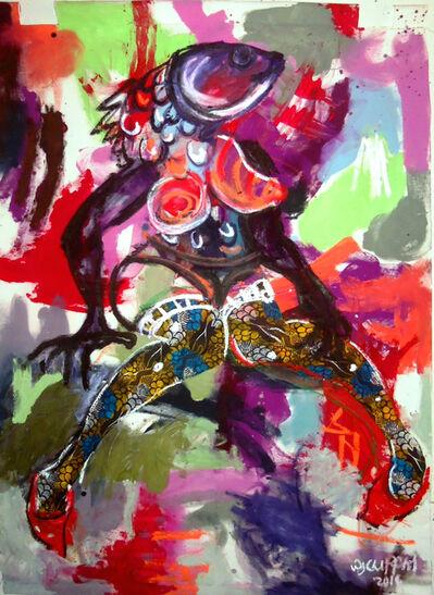 Wycliffe Mundopa, 'Fishing for Love 1', 2014