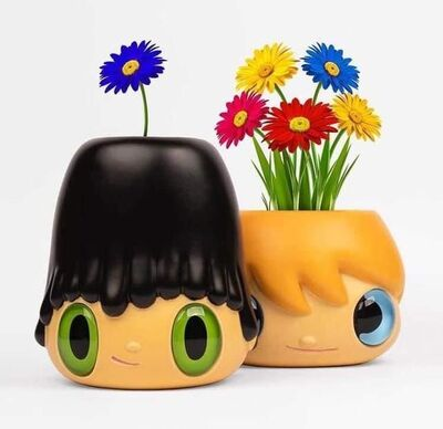 Javier Calleja, ''Pop Top' Planter Pot and Vase (Set of 2), 2020', 2020