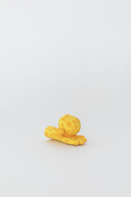 Wade Tullier, 'Orange Yellow Hand with Tangerine', 2020