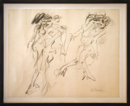 Willem de Kooning, 'Two Women Walking (Double Marilyn)', 1964