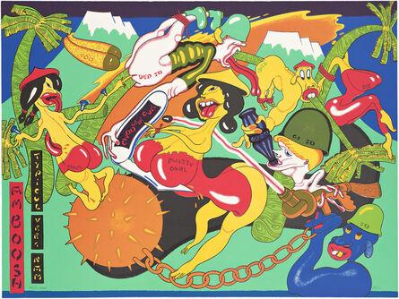 Peter Saul, 'Amboosh', 1967