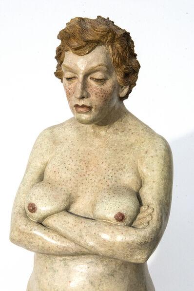 Joe Fafard, 'Great Expectations - nude, female, figurative, detailed, sculpture', 1989