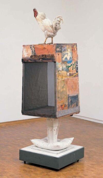Robert Rauschenberg, 'Odalisk', 1955/1958