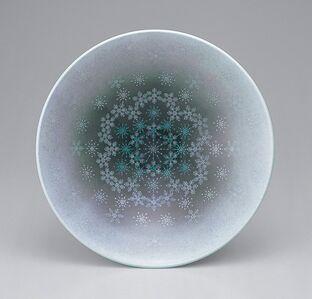 Imaizumi Imaemon XIV, 'Bowl with snowflake patterns', 2012
