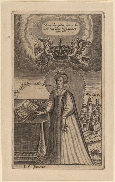 Martin Droeshout, 'Queen Elizabeth'