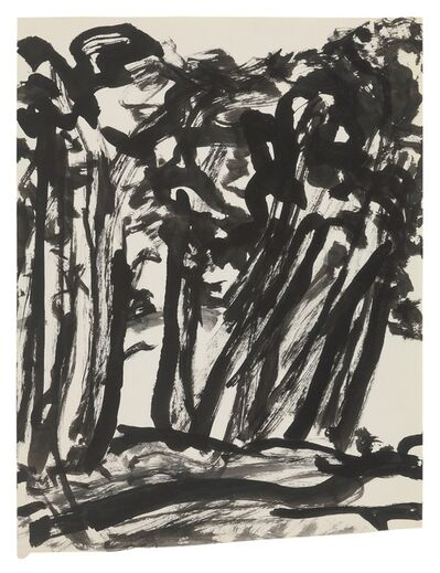 Fritz Ascher, 'Trees', undated