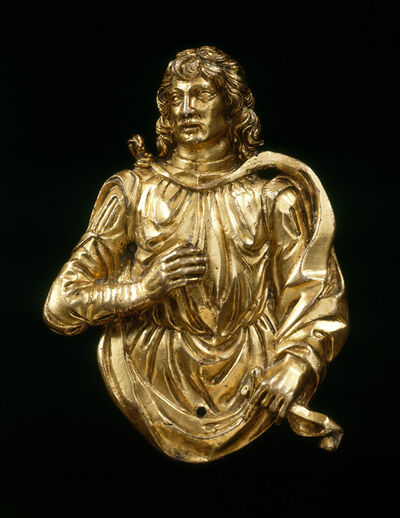 Francesco Marti, 'Male Saint', ca. 1500