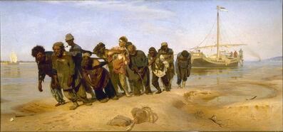 Ilya Efimovich Repin, 'Bargehaulers on the Volga', 1870-1873