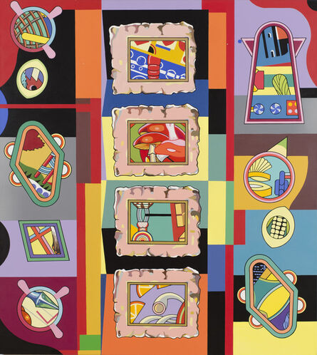 Trevor Winkfield, 'The Gallery', 2012