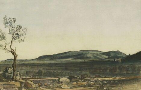 Claude Muncaster, 'LANDSCAPE IN MAJORCA'
