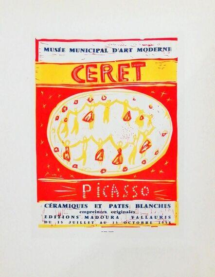 Pablo Picasso, 'Musée Municipal D'art Moderne', 1959