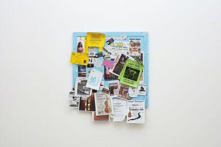 Fiona Connor, 'Community Notice Board (Joshua Tree Laundry)', 2018
