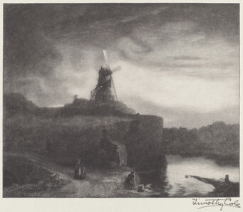 Timothy Cole after Rembrandt van Rijn, 'The Mill', 1920
