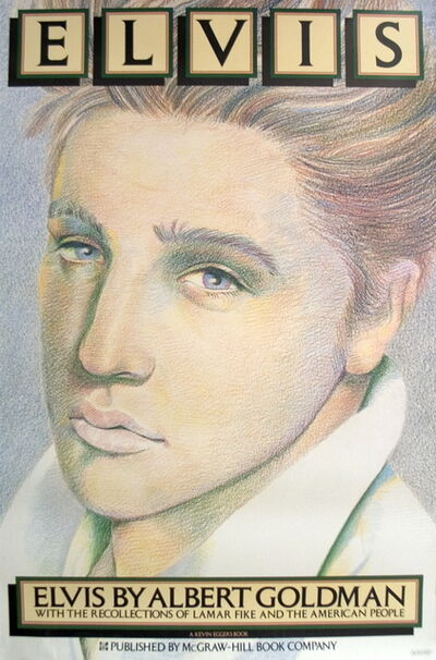 Milton Glaser, 'Elvis', (Date unknown)