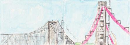Lance Rivers, 'New Bay Bridge Under Construction', 2014