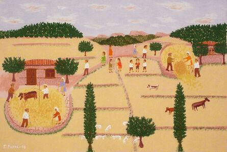 Giorgos Rigas, 'Threshing', 1998