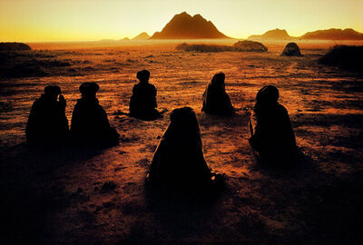Steve McCurry, 'Kuchi Nomads, Evening Prayer, Kandahar', 1992