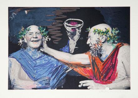 Pablo Picasso, 'Photo Rehasse de Picasso et Manuel Pallares', 1979-1982