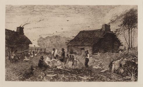 John Mackie Falconer, 'Washing Morning Down South', 1882