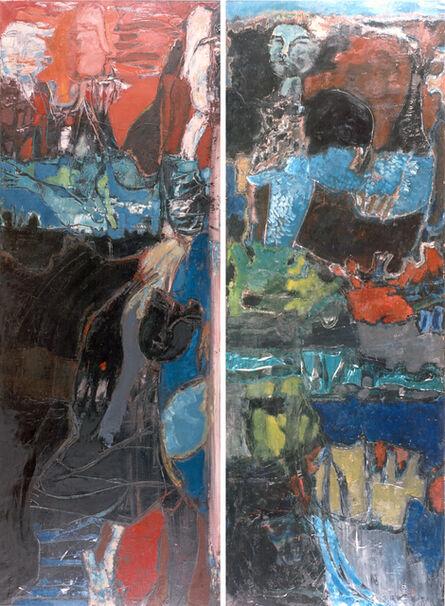 Rómulo Macció, 'Ofelia - Diptich', 1958