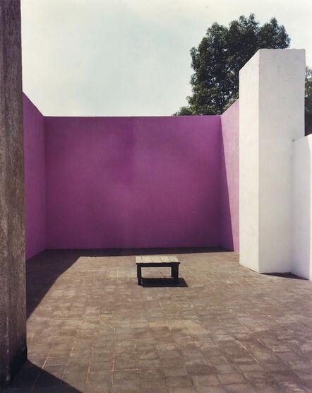 Armando Salas Portugal, 'Roof Terrace 1, Barragán House and Studio', 1965-1975