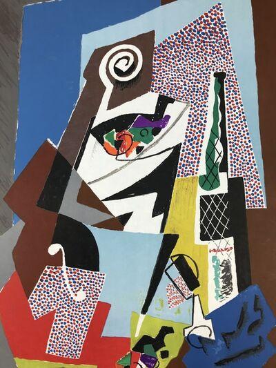 Gino Severini, 'Natura morta e Violino', 1965/66