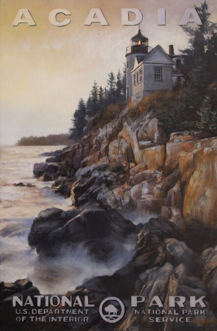 Jennifer Johnson, 'Acadia National Park - Bass Harbor Head Lighthouse', 2020
