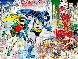 Mr. Brainwash, 'Batman & Robin', 2018