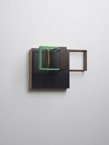 Nahum Tevet, 'Untitled (With Black & Green) B', 2014