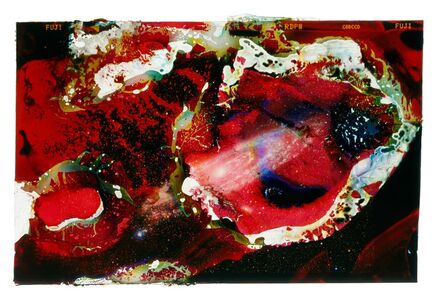 Marcus DeSieno, 'A Photograph of the Andromeda Galaxy Eaten by Bacteria Found on an ATM', 2014