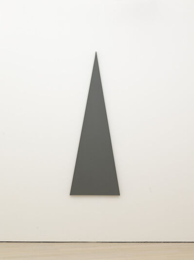 Alan Charlton, 'Triangle Painting', 2013