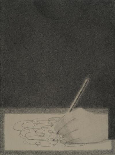 Johnny Izatt-Lowry, 'Self portrait, drawing', 2020